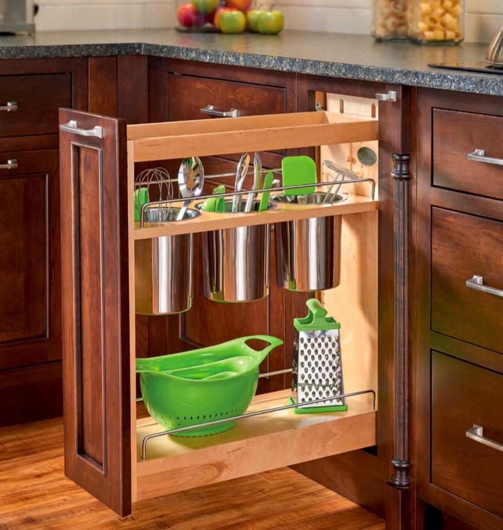 cooking utensils kitchen storage